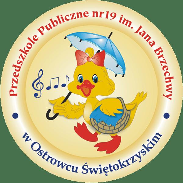 logo publiczne przedszkole nr 19 im. jana brzechwy w Ostrowcu Świętokrzyskim